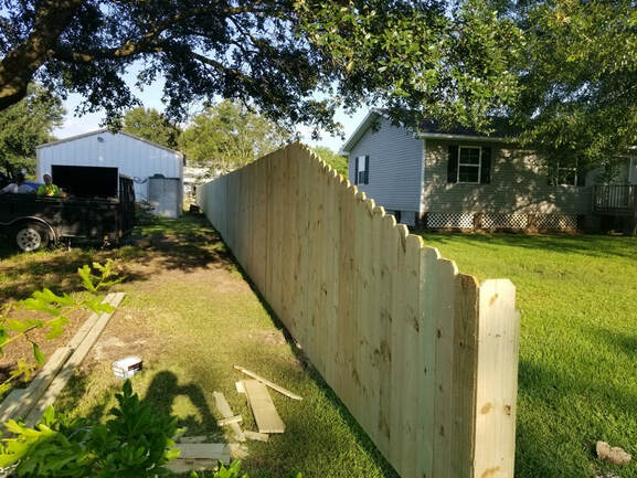 Picture of wooden fence